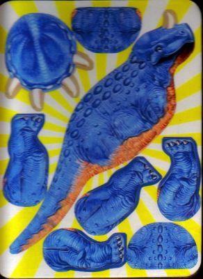 《幼儿缤纷立体小手工:恐龙世界》【摘要图片